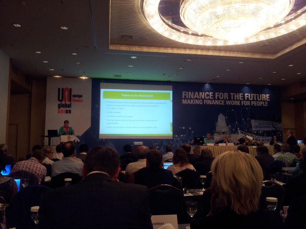 Conferencia UNI Finanzas Europa