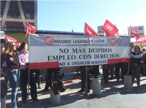 Madrid Leasing en lucha