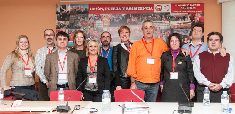 Ejecutiva FeS-Aragón
