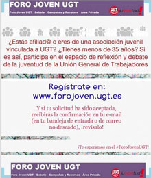 Foro Joven UGT
