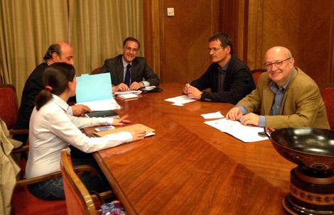 UGT y CCOO presentan a los grupos parlamentarios la propuesta de los sindicatos sobre la reforma de la Ley de Propiedad Intelectual